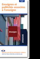 De info-folders van Stedenbouw: uithangborden en reclame verwijzend naar het uithangbord